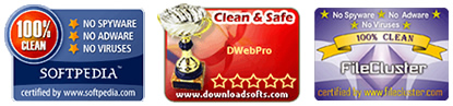 DWebPro is 100% Clean from Spyware, Adware and Viruses!